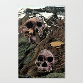landscape sculls Canvas Print