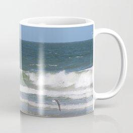 Birds Flying on the Beach Coffee Mug