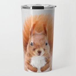 Squirrel 2 - Colorful Travel Mug