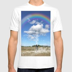 One Of Those days White MEDIUM Mens Fitted Tee