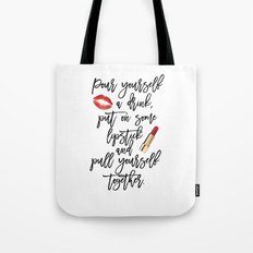 marilyn monroe,marilyn monroe quote,Gift Women,Fashion quote,Red lips,Lipstick Print,Celebration Tote Bag