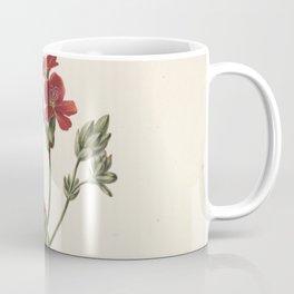 M. de Gijselaar - Red Flower (1830) Coffee Mug