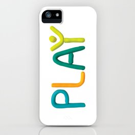 PLAY (Cool) iPhone Case