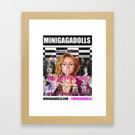 artRAVE minigadolls Framed Art Print