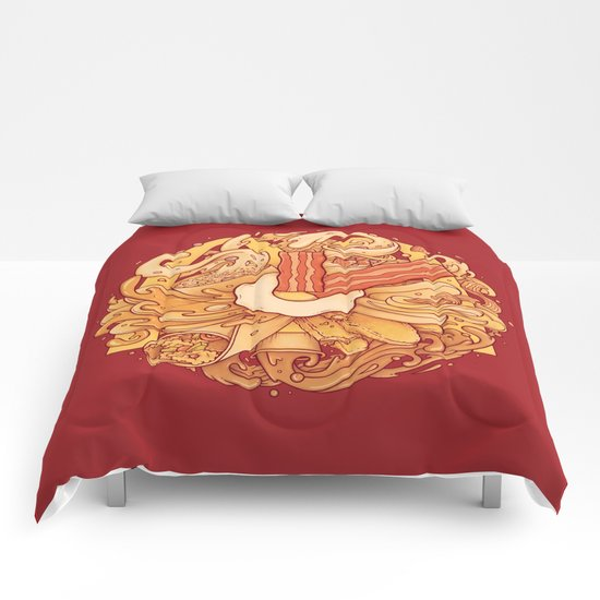It's Breakfast Time Comforters