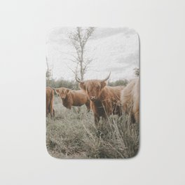 Golden Hour Cattle Bath Mat