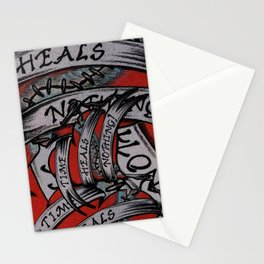 Time Heals Nothing! Stationery Cards