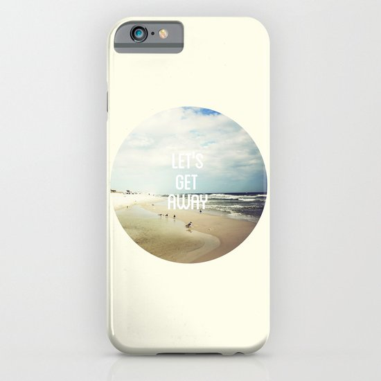 LET'S GET AWAY iPhone & iPod Case