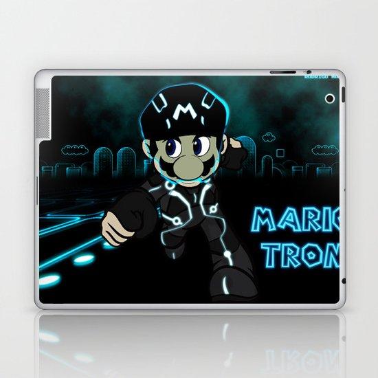 Mario Tron Laptop & iPad Skin