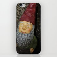 gnome iPhone & iPod Skins featuring Gnome by alexarayy