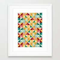 candy Framed Art Prints featuring Candy by According to Panda
