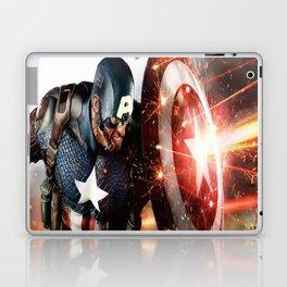 Man Of Captain In America Laptop & iPad Skin