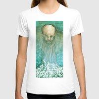 beard T-shirts featuring Beard by Lee Grace Illustration