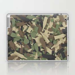 Forest alcohol camouflage Laptop & iPad Skin