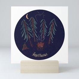 Sagittarius Nature Zodiac Mini Art Print
