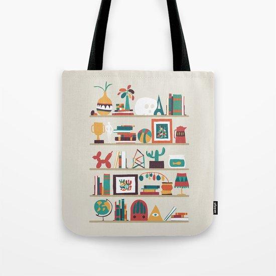 The shelf Tote Bag