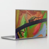 pain Laptop & iPad Skins featuring Pain by ErikMcManusInc.