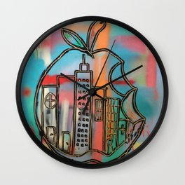 Rotten Apple Wall Clock