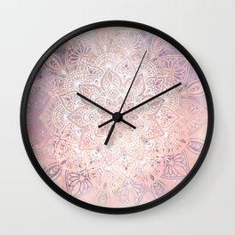 Mandala Bohemian Fall Wall Clock