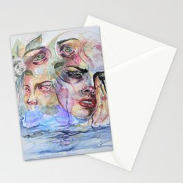 Memoirs from past life Stationery Cards