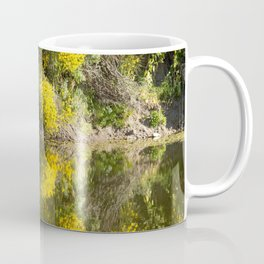 Yellow Trees on the Sauce Grande River Coffee Mug