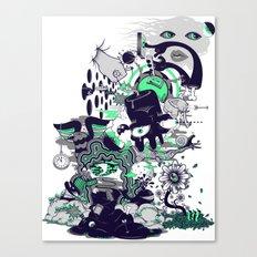 An Inevitable Twist Of Fate Canvas Print