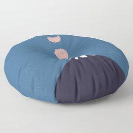 Cat Landscape 73 Floor Pillow