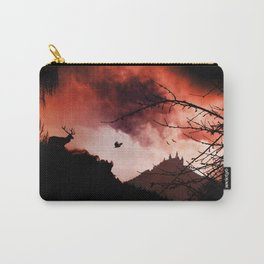 Dramatic cloudy scenery Carry-All Pouch