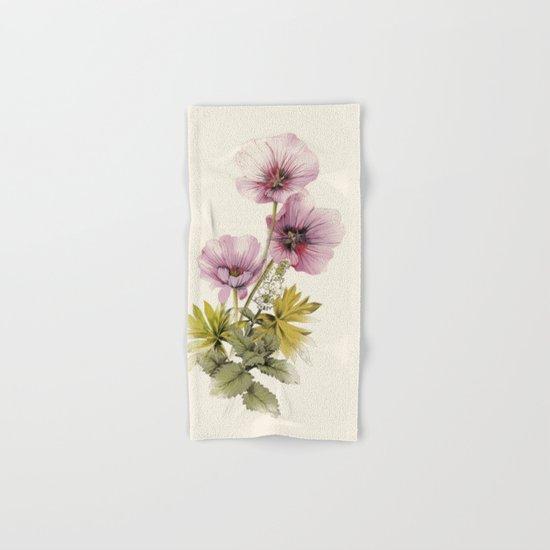 Geranium & Gardenmint Hand & Bath Towel