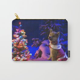 Shiba Inu Chistmas Tree Carry-All Pouch