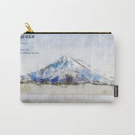 Fuji-San Carry-All Pouch