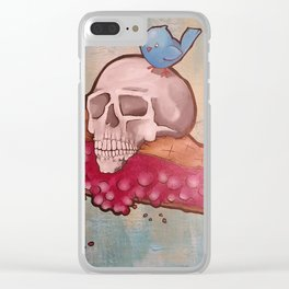 Death by Pie Clear iPhone Case