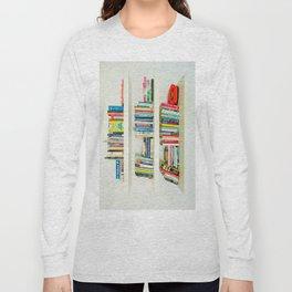Bookshelf Long Sleeve T-shirt