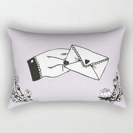 Snail Mail Love Rectangular Pillow