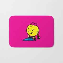 Ms. Pac-Man Bath Mat