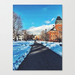 Plymouth State Canvas Print
