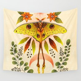 Moth Wings IV Wall Tapestry