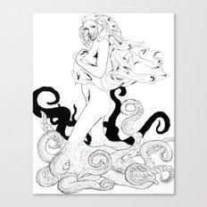 Drudge Canvas Print