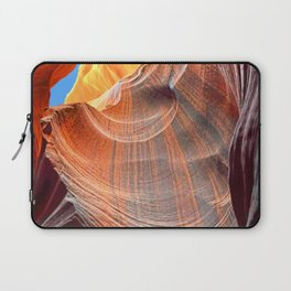 Geology Alive - Time Passage of Upper Antelope Canyon Laptop Sleeve