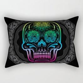 La Bella Muerte Rectangular Pillow