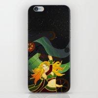 superhero iPhone & iPod Skins featuring Superhero by Kamiledesigns