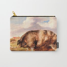 13,000px,600dpi-James Ward - Gloucestershire Old Spot - Digital Remastered Edition Carry-All Pouch