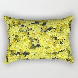 Happy Forsythia Rectangular Pillow