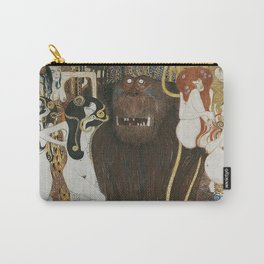 BEETHOVEN FRIEZE - GUSTAV KLIMT Carry-All Pouch