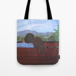 Love in the Mountains Tote Bag