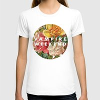 vampire weekend T-shirts featuring Vampire Weekend vintage flowers by Elianne