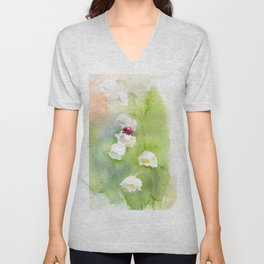 Lady bird Unisex V-Neck