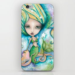 Mermaid Connection iPhone Skin