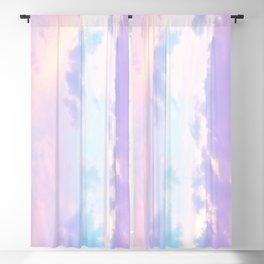 Unicorn Pastel Clouds #1 #decor #art #society6 Blackout Curtain