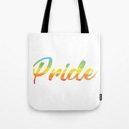 Pride Rainbow LGBT Gift Tote Bag